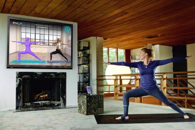Quần áo tập yoga thông minh giúp sửa tư thế tại nhà - Ảnh 1.