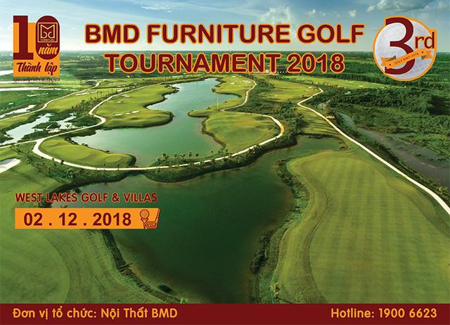 Nội thất BMD tổ chức BMD Furniture Golf Tournament 2018 lần 3 - Ảnh 1.