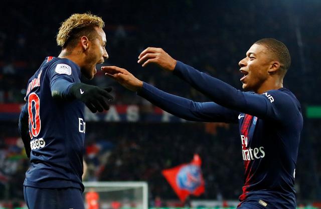 Neymar tỏa sáng, PSG phá kỷ lục tồn tại 58 năm của Tottenham - Ảnh 2.