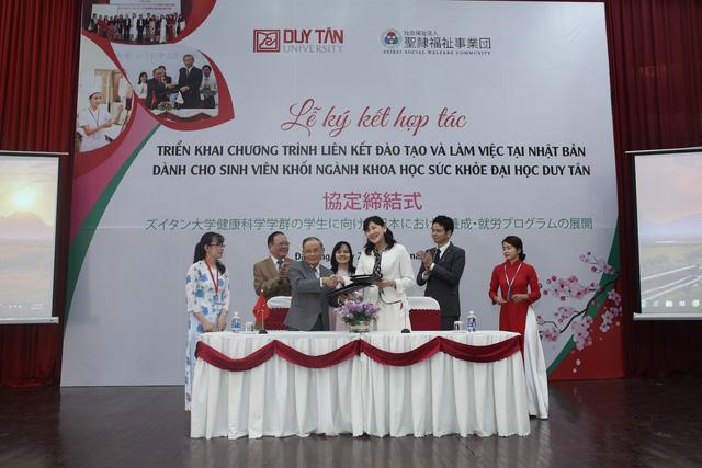 ĐH Duy Tân hợp tác đào tạo điều dưỡng với Tập đoàn SEIREI, Nhật Bản - Ảnh 1.