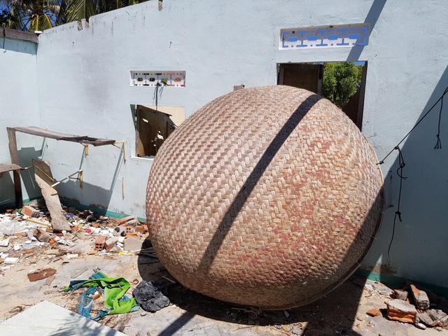 Đảo Điệp Sơn  sau 1 năm hứng bão lịch sử Damrey - Ảnh 1.
