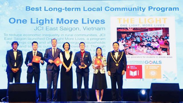 Dự án của JCI Vietnam giành giải thưởng quốc tế - Ảnh 1.