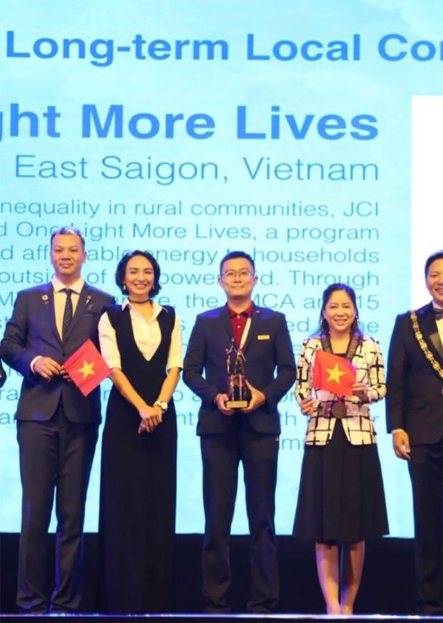 Dự án của JCI Vietnam giành giải thưởng quốc tế - Ảnh 3.