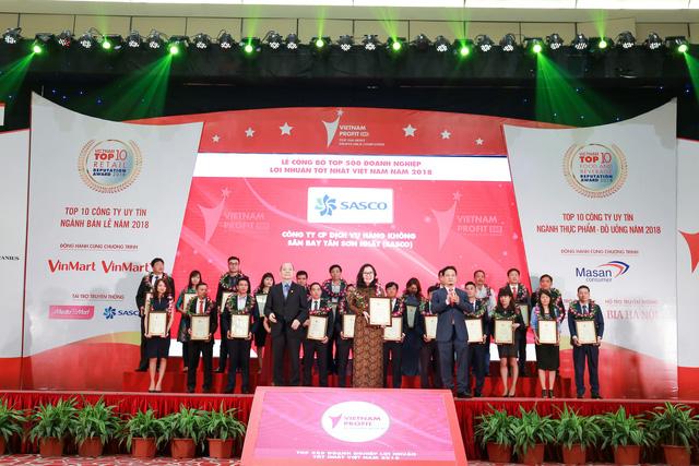 SASCO liên tiếp đón nhận các Giải thưởng uy tín năm 2018 - Ảnh 1.