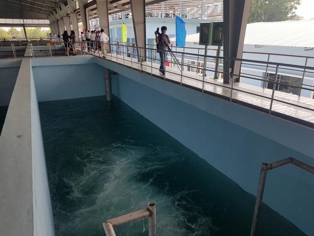 Nhà máy xử lý nước thải 20.000m3 giảm ô nhiễm cho sông Đồng Nai - Ảnh 1.