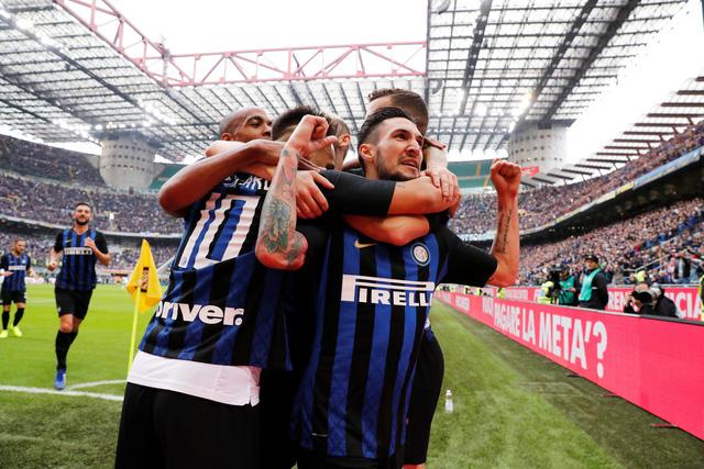 Đại thắng 5 sao, Inter Milan vươn lên thứ 2 Serie A - Ảnh 1.