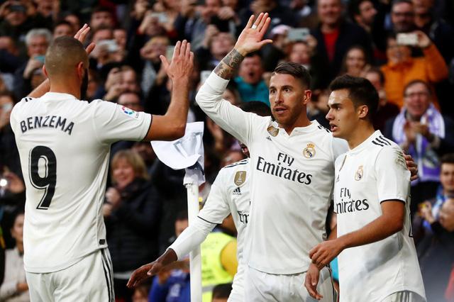 Real Madrid có trận thắng thứ hai cùng HLV Solari - Ảnh 1.
