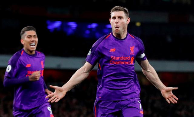 Arsenal và Liverpool chia điểm kịch tính trên sân Emirates - Ảnh 1.