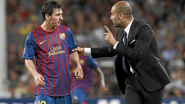 HLV Guardiola: Tôi đã nói cả ngàn lần là không muốn Messi về M.C - Ảnh 1.