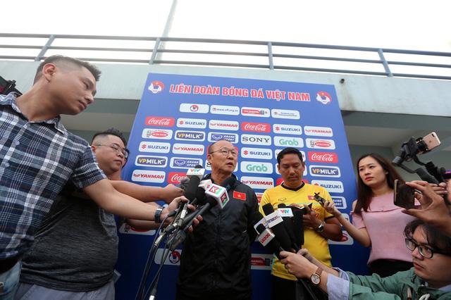 HLV Park: Chúng tôi nỗ lực để vô địch AFF Cup - Ảnh 1.