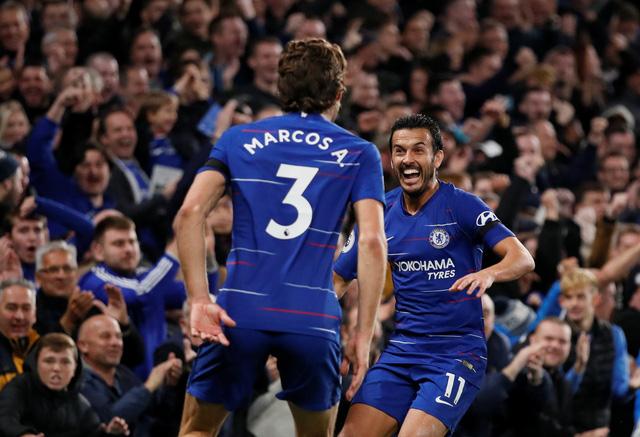 Morata tỏa sáng, Chelsea lên nhì bảng - Ảnh 2.
