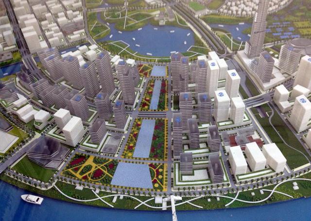 Cuối 2018 trình HĐND TP.HCM dự án quảng trường ở Thủ Thiêm - Ảnh 1.