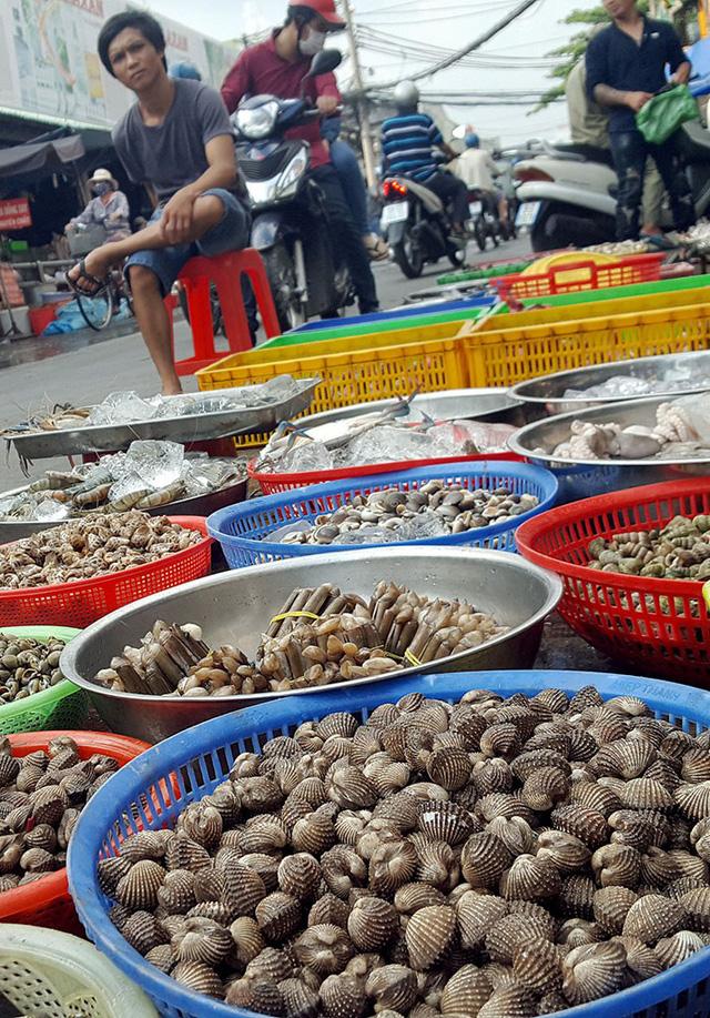 Thiếu hụt sò huyết, giá ở Singapore vẫn rẻ hơn Việt Nam - Ảnh 1.