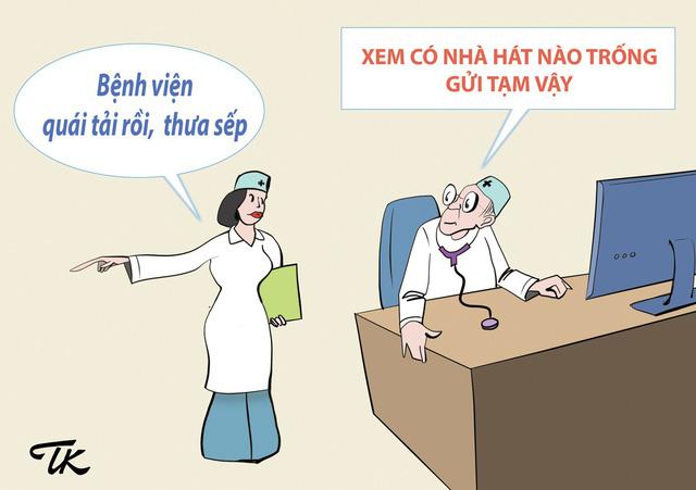 Hí họa: Bệnh của bệnh viện - Ảnh 2.