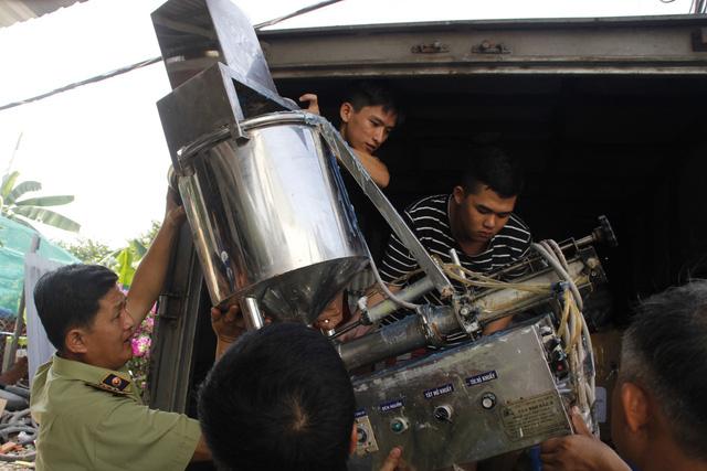 Sữa dưỡng thể sản xuất tại Việt Nam ghi Made in Thái Lan - Ảnh 3.