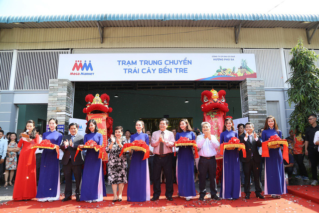 MM Mega Market chính thức hoạt động trạm trung chuyển Bến Tre - Ảnh 1.