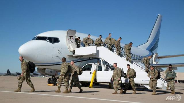 Gần 5.000 lính Mỹ có mặt gần biên giới Mexico - Ảnh 1.
