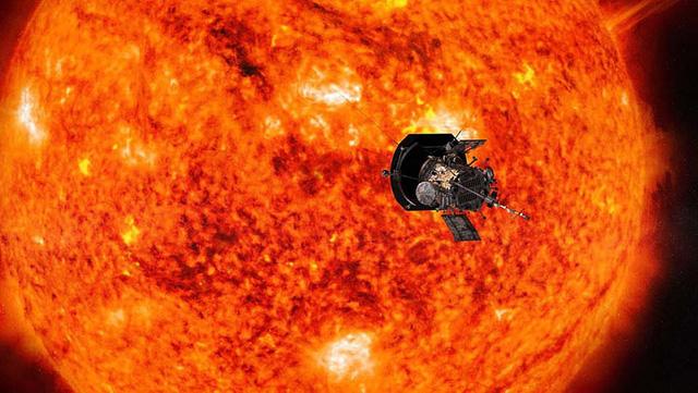 Tàu thăm dò Parker Solar đã đi vào khí quyển mặt trời - Ảnh 1.