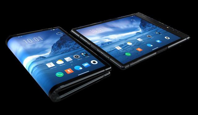 Xuất hiện điện thoại gập đầu tiên trên thế giới - Ảnh 2.