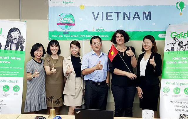 """ĐH Duy Tân vào Chung kết thế giới cuộc thi """"Go Green In The City"""" 2018 - Ảnh 1."""