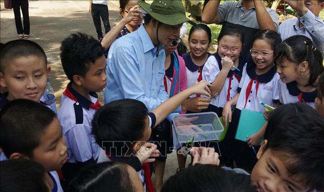 TP.HCM khởi động chương trình tiết học ngoài nhà trường bậc tiểu học - Ảnh 1.