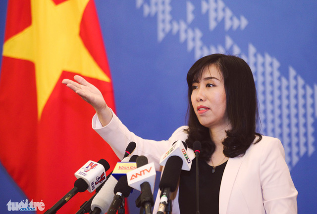 Bộ Ngoại giao: Trịnh Xuân Thanh vẫn đang thi hành án ở Việt Nam - Ảnh 1.