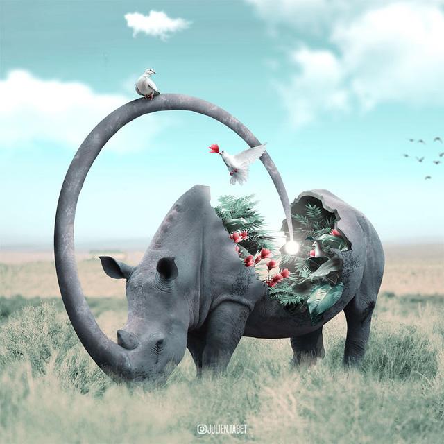 Động vật trong mắt thánh photoshop - Ảnh 3.
