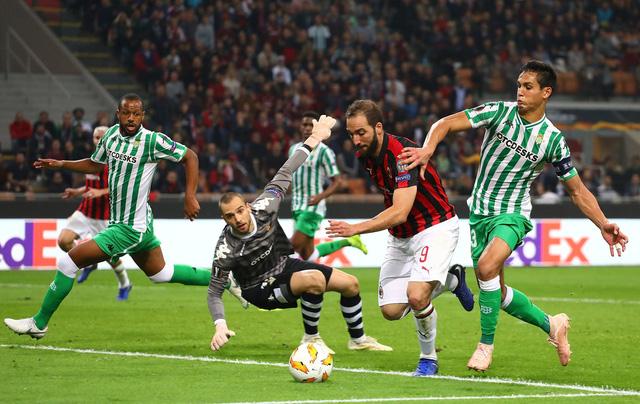 Hòa Real Betis, Milan chưa chắc suất đi tiếp - Ảnh 1.