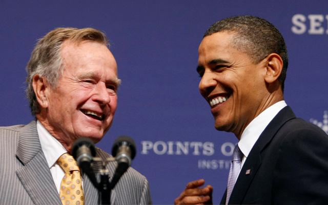 George H.W. Bush - nhà ngoại giao duy thực - Ảnh 1.