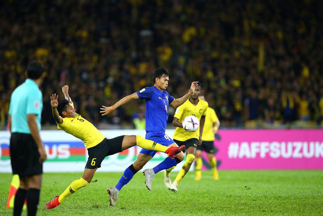 Cầm chân Malaysia, Thái Lan nắm lợi thế trước trận lượt về - Ảnh 1.