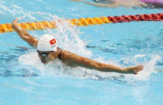 Ánh Viên phá 2 kỷ lục Đại hội Thể thao toàn quốc - Ảnh 1.