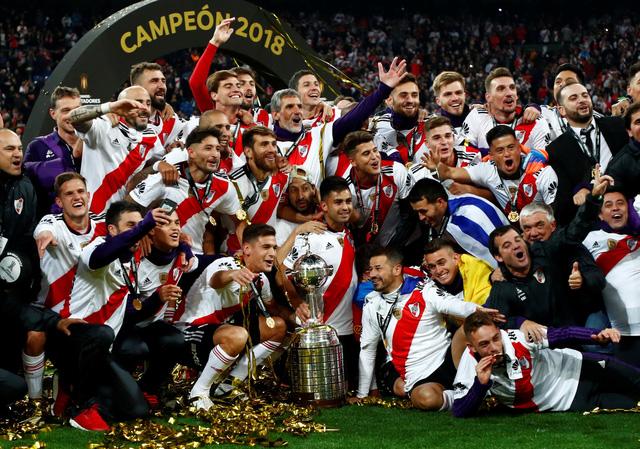 Đá bại 10 người Boca Juniors, River Plate vô địch Copa Libertadores - Ảnh 2.