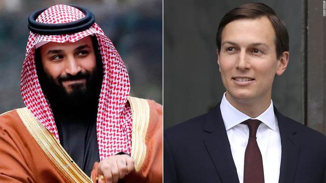 Con rể ông Trump tư vấn Thái tử Saudi cách vượt qua bão tố - Ảnh 1.
