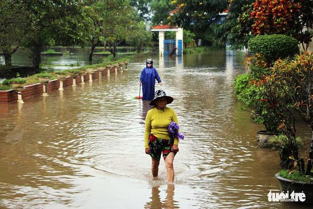 Thừa Thiên - Huế: mưa lớn gây ngập cục bộ, một người mất tích - Ảnh 1.
