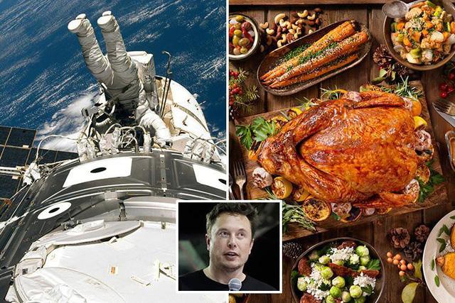 Có gì trong tiệc mừng giáng sinh trên trạm ISS? - Ảnh 1.