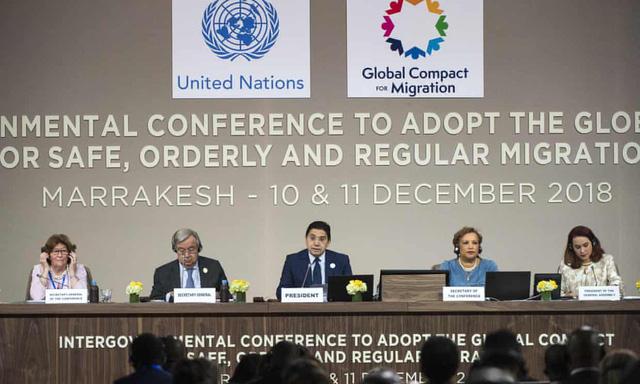 LHQ thông qua thỏa thuận toàn cầu để giải quyết khủng hoảng di cư - Ảnh 1.