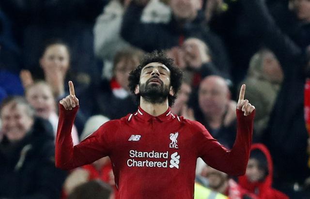 Salah 'nổ súng', Liverpool loại Napoli - Ảnh 1.