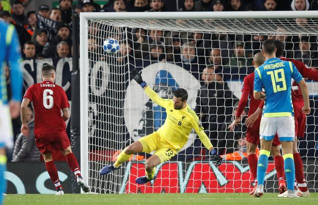 Salah 'nổ súng', Liverpool loại Napoli - Ảnh 2.