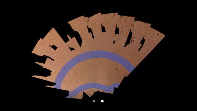 Tàu thăm dò NASA khoe nơi làm việc trên sao Hỏa - Ảnh 2.