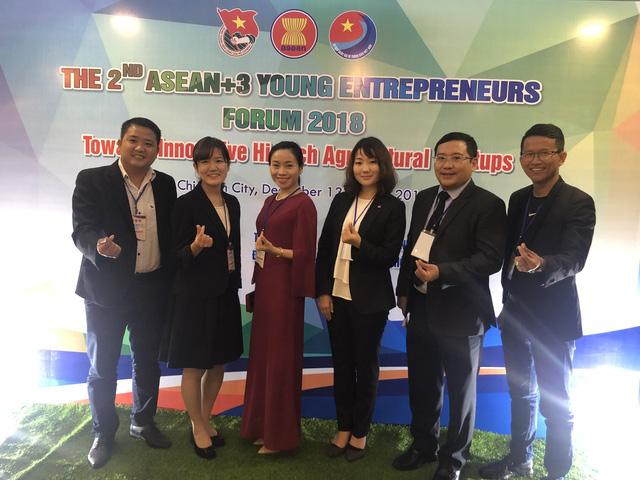 Khai mạc Diễn đàn doanh nhân trẻ ASEAN+3 - Ảnh 1.
