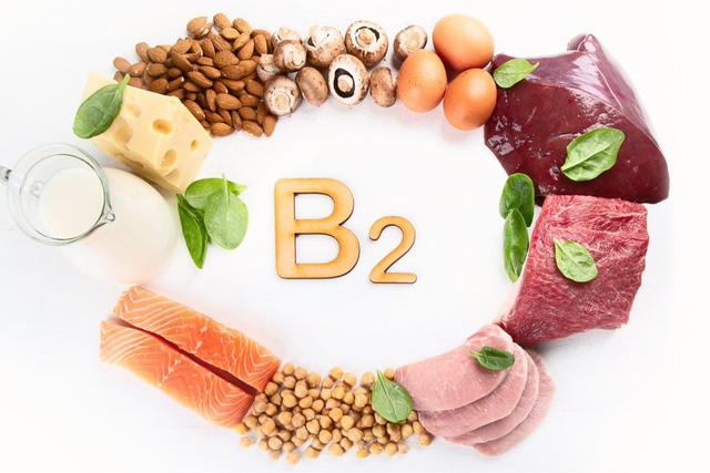 Vitamin B2 và nguồn thực phẩm chứa nhiều vitamin B2 - Ảnh 1.