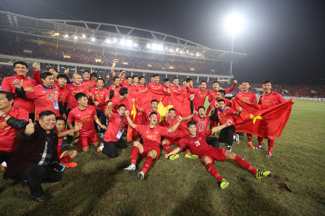 Việt Nam lần thứ hai vô địch AFF Cup - Ảnh 2.