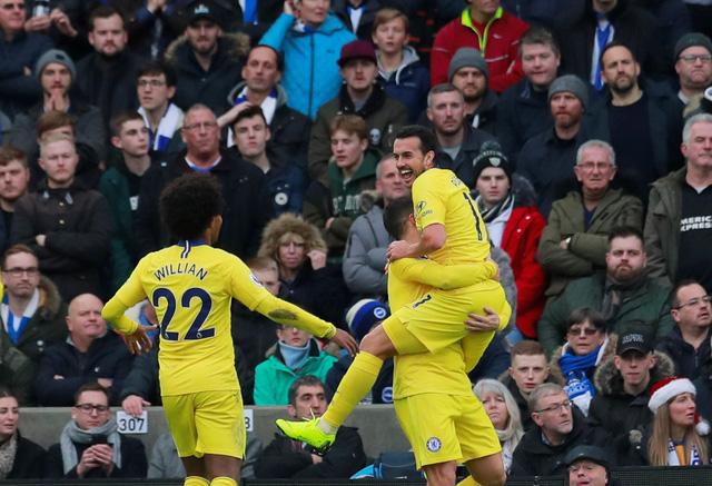 Hazard tỏa sáng, Chelsea khuất phục Brighton - Ảnh 1.