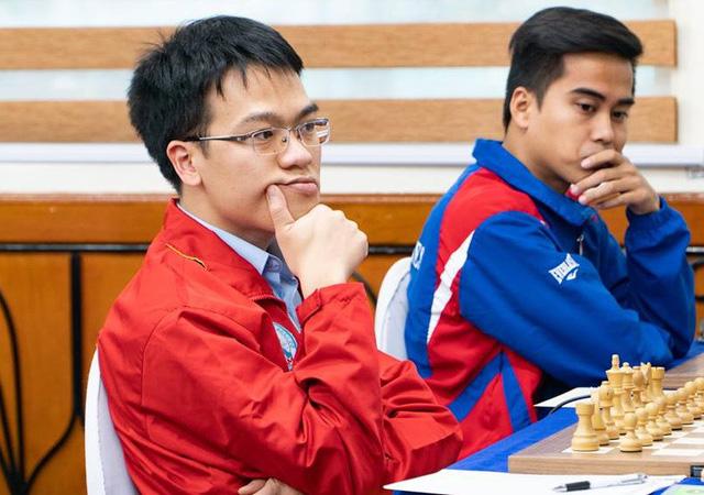 Lê Quang Liêm hòa kỳ thủ 3 năm liền vô địch Trung Quốc - Ảnh 1.