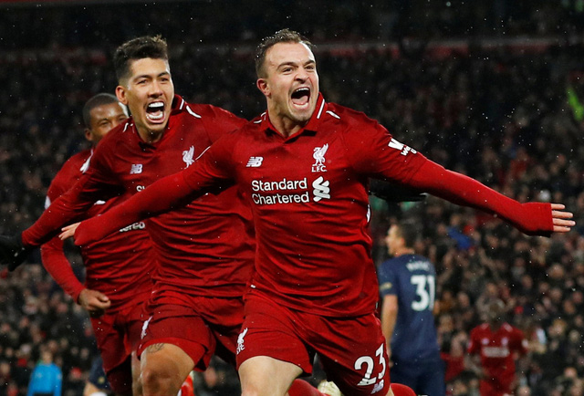 'Siêu dự bị' Shaqiri lập cú đúp, Liverpool đá bại M.U 3-1 - Ảnh 3.