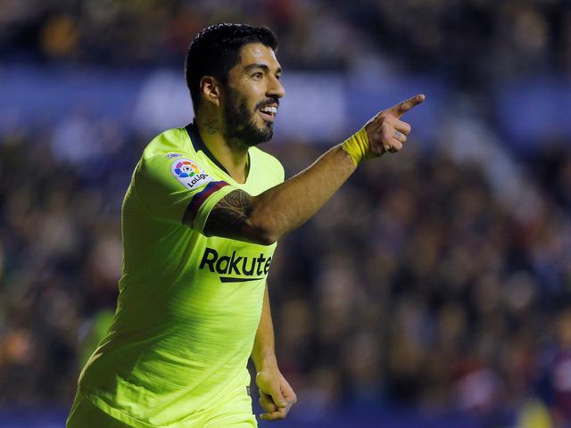 Messi lập hat-trick, Barcelona nhấn chìm Levante - Ảnh 1.