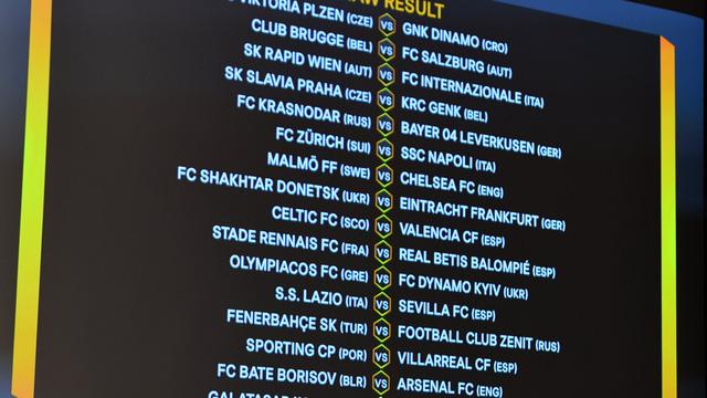 Chelsea và Arsenal gặp may tại vòng 32 đội Europa League - Ảnh 1.