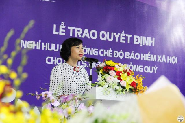 Bà Mai Hồng Quỳ làm hiệu trưởng ĐH Hoa Sen - Ảnh 1.