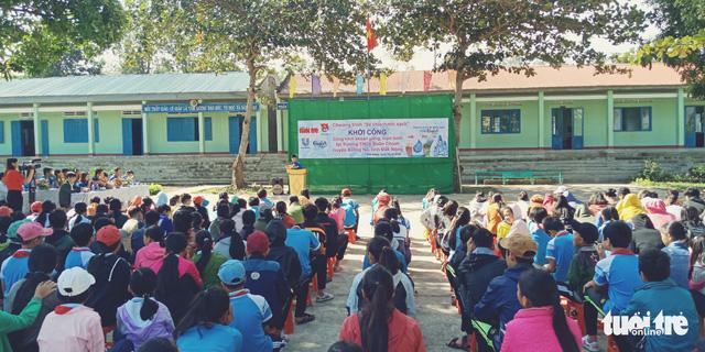 Khởi công dự án nước sạch tại xã vùng sâu Đắk Nông - Ảnh 1.