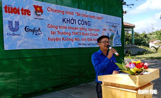 Khởi công dự án nước sạch tại xã vùng sâu Đắk Nông - Ảnh 4.